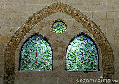 Arabic Stained Glass Windows Stock Photography Image 8217072