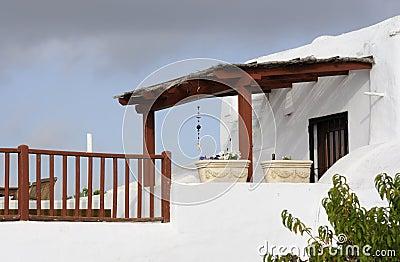 Arabic style balcony