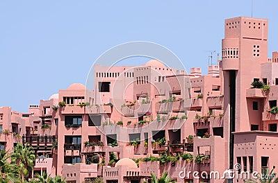Arabic style building