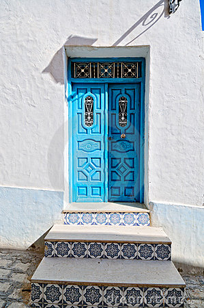 Arabic style house entrance