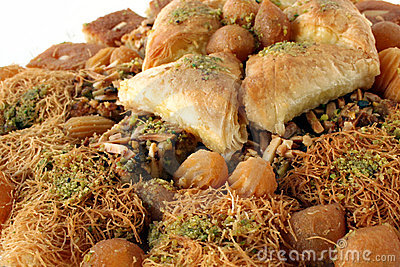 Arabic sweet pastries