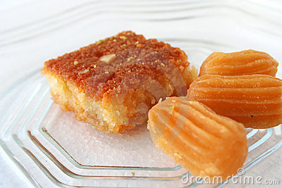 Arabic sweet pastries & dessert