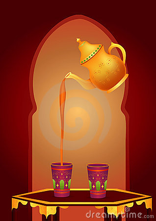 Free Arabic Tea Stock Photo - 9953710