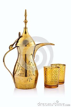 Free Arabic Tea Pot Royalty Free Stock Image - 60290026