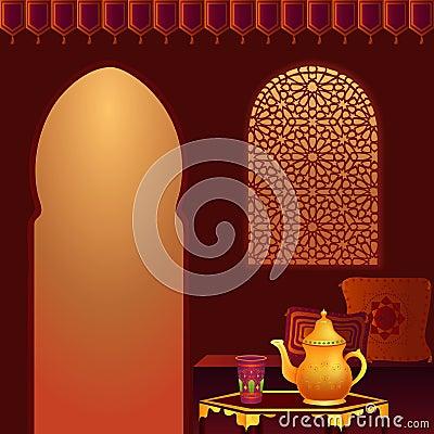 Free Arabic Tea Room Royalty Free Stock Images - 11494119