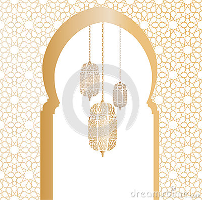 Free Arabic Vector Illustration Royalty Free Stock Photo - 54506535