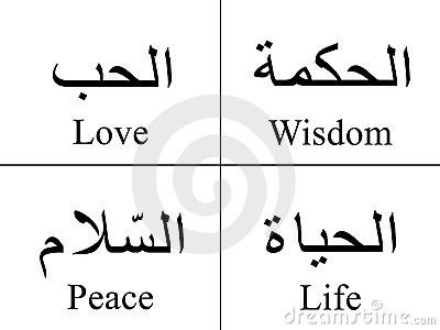 ARABIC WORDS click image to