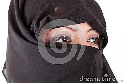 Arabische mädchen augen