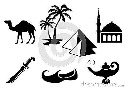 Arabische Pictogrammen