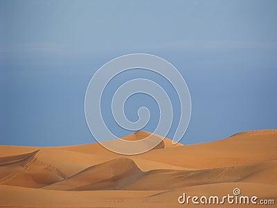 Arabische Sanddünen