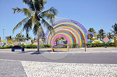 Aracaju Kids Public Park Editorial Stock Image