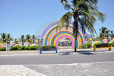 Aracaju Kids Public Park Editorial Stock Image