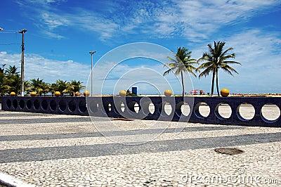 Aracaju SeaFront Area Editorial Photo