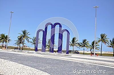 Aracaju SeaFront Area Editorial Image