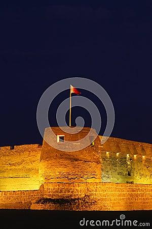 Arad fort in Manama Bahrain close up