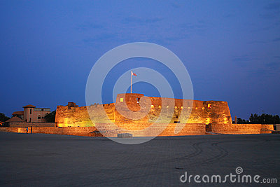 Arad fort in Manama Bahrain