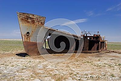 Aral Sea disaster, Kazakhstan