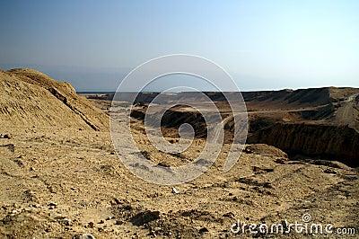Arava desert in israel