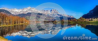 Aravis Range and Lac du Passy, France I