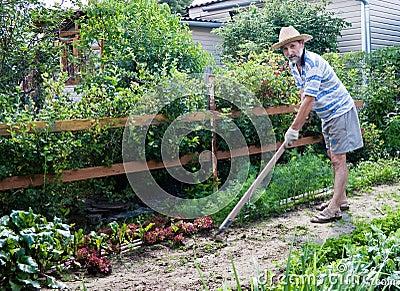Arbeiten im garten stockfotos bild 18644183 for Garten arbeiten