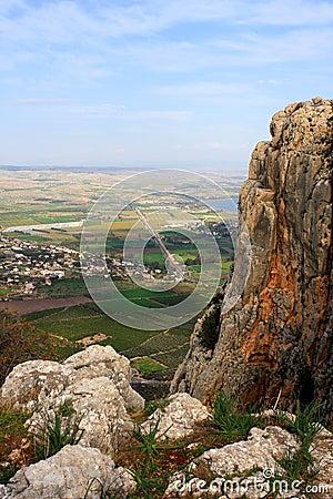 Arbel mountain, Israel