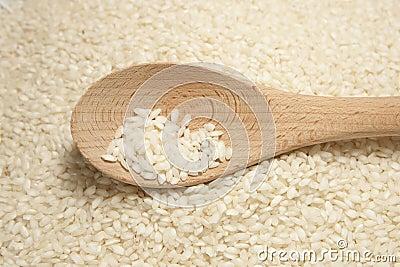 Arborio Rice with Spoon