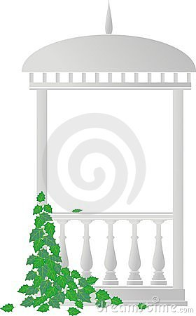 Free Arbour (rotunda) And Ivy Royalty Free Stock Images - 14916089