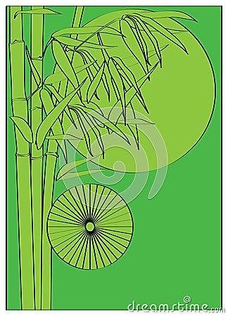 Arbre en bambou