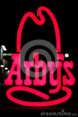 Arby s Sign Editorial Photography