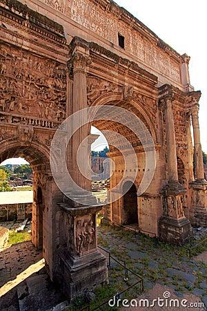 Arc of Constantine,Rome,Italy