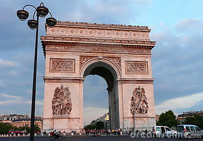 Arc de Triomphe Editorial Photo