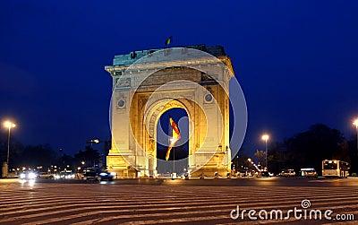 Arc de Triomphe Bucharest
