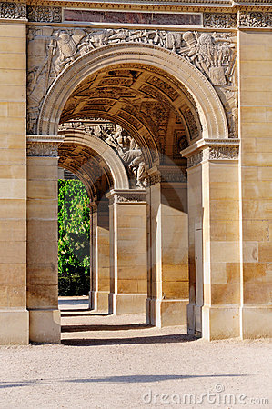 Arc de Triomphe du Carrousel a Parigi