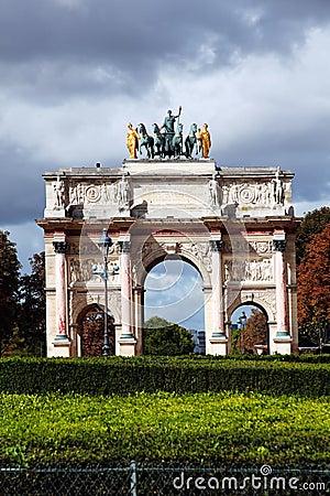 Arc de Triomphe du Carrousel , Paris