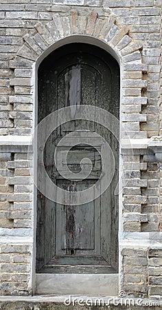 Arc door