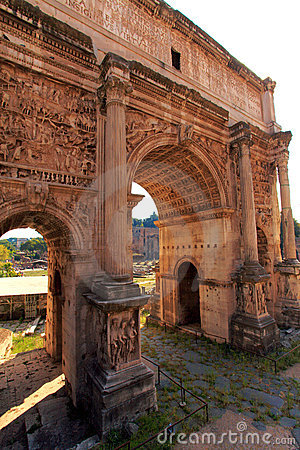 Free Arc Of Constantine,Rome,Italy Royalty Free Stock Image - 22153426