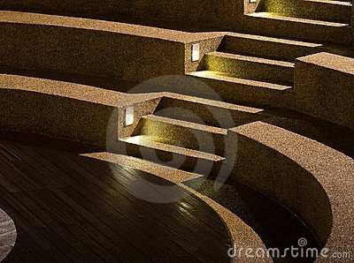 Arc Shaped Stairs
