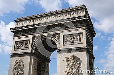 Arc-the-Triomphe Paris