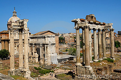 Arc of triumph in Rome