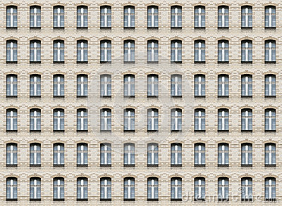 Arc windows wall texture