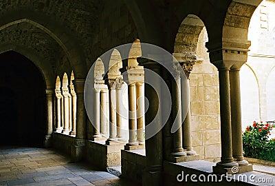 Arcade in Bethlehem.