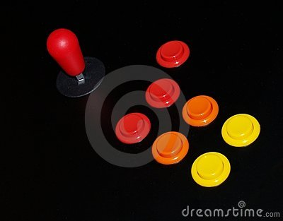 Arcade Joystick and Buttons