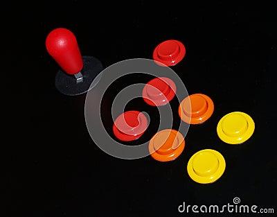 Arcade Joystick and Buttons
