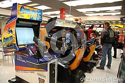 Arcade machines Editorial Photography