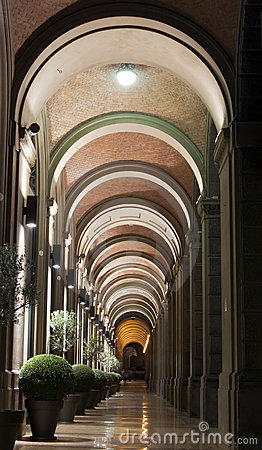 Arcades in Bologna, Italië