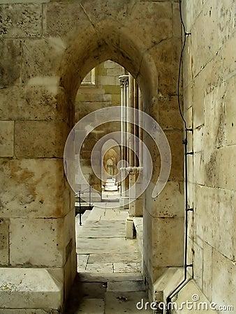 Arcades corridor