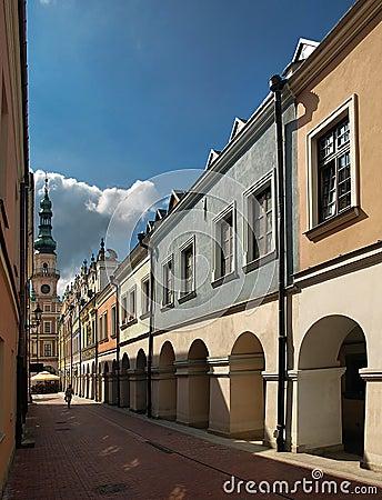 Free Arcades In Zamosc Stock Photos - 9552913