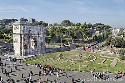 Arch of Constantine Editorial Image