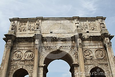The Arch Of Constantine Stock Photos - Image: 24415353