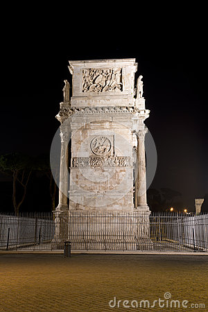 The Arch Of Constantine Stock Photos - Image: 28239233